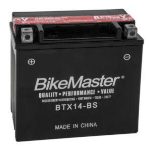 BikeMaster Maintenance Free Battery BTX14-BS for Mana 850 2009-2013