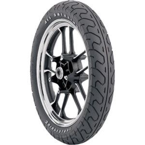 100/90-19 (57H) Bridgestone Spitfire S11 Front Motorcycle Tire Raised White Letters for BMW F650 1997-1999
