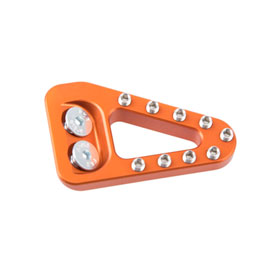 Clean Speed Extended Brake Pedal Pad Orange for Husqvarna FC 250 2016-2018