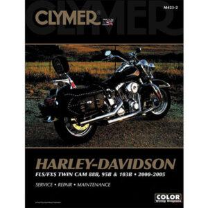 Clymer Repair Manuals for Harley-Davidson CVO Softail Deuce FXSTDSE 2003-2004