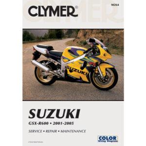 Clymer Repair Manuals for Suzuki GSXR600 2001