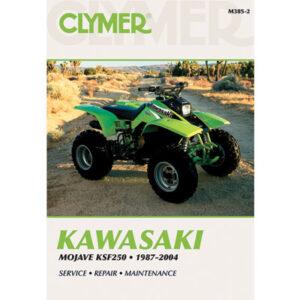Clymer Repair Manuals for Kawasaki MOJAVE 250 1987-2004