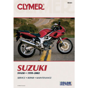 Clymer Repair Manuals for Suzuki SV650 1999-2009