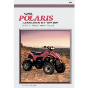 Clymer Repair Manuals for Polaris SCRAMBLER 500 1997-2000