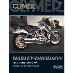 Clymer Repair Manuals for Harley-Davidson CVO V-Rod VRSCSE 2005-2006