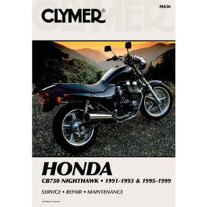 Clymer Repair Manuals for Honda Nighthawk CB750 1991-1993