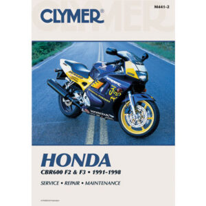 Clymer Repair Manuals for Honda CBR600F2 1991-1994