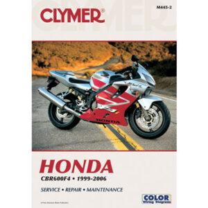 Clymer Repair Manuals for Honda CBR600F4 1999-2000