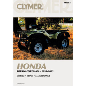 Clymer Repair Manuals for Honda TRX 400 4X4 FOREMAN 1995-2003