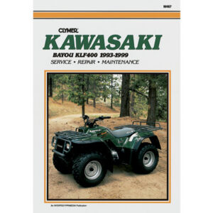 Clymer Repair Manuals for Kawasaki BAYOU 400 4X4 1993-1999