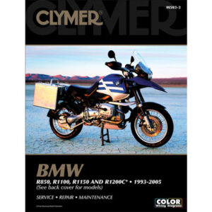 Clymer Repair Manuals for BMW R1100GS 1995-1999