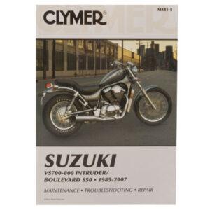 Clymer Repair Manuals for Suzuki Boulevard S50 VS800 2005-2009