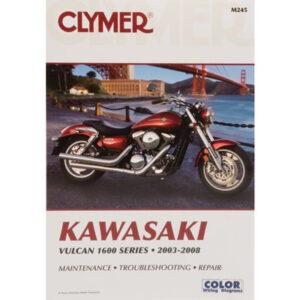 Clymer Repair Manuals for Kawasaki Vulcan Classic VN1600A 2003-2008