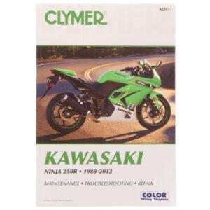 Clymer Repair Manuals for Kawasaki Ninja 250 EX250F 1988-2012