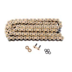 DID 525VX Gold X-RING Road Chain 525×110 for Aprilia Tuono V4 1100 Factory ABS 2016-2017