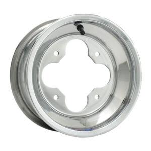 4/110 Douglas A5 Wheel 8X8 3.0 + 5.0 Polished Aluminum for Arctic Cat 150 2009-2017