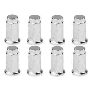 Douglas (16pk)Flat Base Lug Nut 10mm x 1.25mm Thread Pitch w/14mm Head for Arctic Cat 1000 LTD 2012