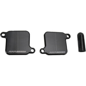 Driven Racing Engine Block-Off Plate Black for Suzuki GSXR1000 2009