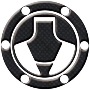 Keiti Gas Cap Protector Carbon for Kawasaki Ninja 250 EX250F 1988-2006