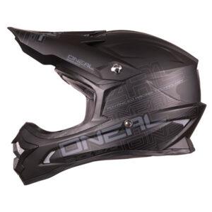 O'Neal Racing 3 Series Helmet Large Flat Black
