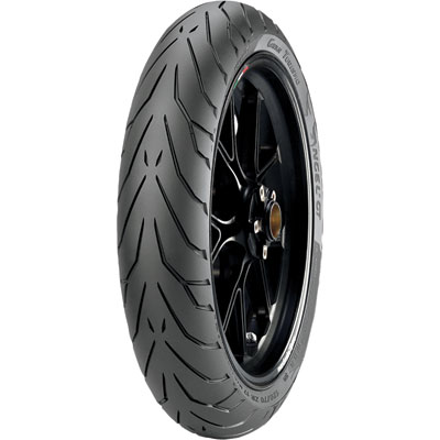 120/70ZR-17 (58W) Pirelli Angel GT Front -A- Spec Motorcycle Tire for Aprilia Caponord 1200 ABS 2014-2016