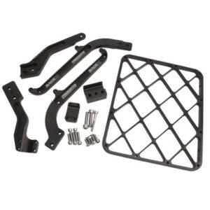 """Pro Moto Billet """"Rack It"""" Rear Cargo Rack Black for KTM 125 SX 2008-2010"""