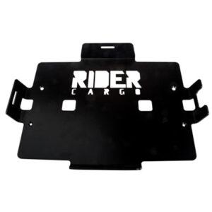 Rider Cargo Cooler Mounting Rack  Black Powder Coated