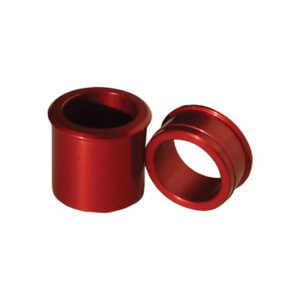 Ride Engineering Locking Front Wheel Spacers Red for Honda CR125R 2002-2007