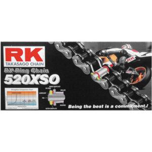 RK 520XSO RX-Ring Chain 520×108 for Ducati 620D Multistrada Dark MT620D 2005-2006