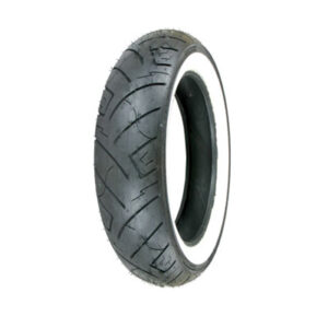 100/90-19 (61H) Shinko 777 H.D. Front Motorcycle Tire White Wall for BMW F650 1997-1999