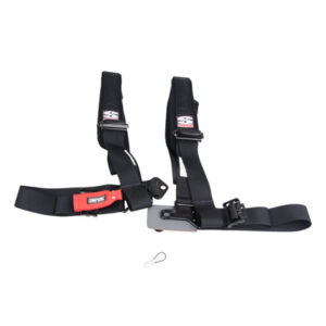 Simpson Performance Products D3 Bolt-In Safety Harness with Pads 2″ Driver Side Black for Can-Am Commander 1000 2011-2014