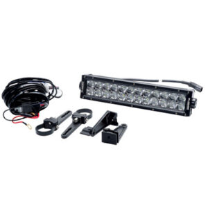 Slasher Products 3D Series LED Light Bar and Wiring Harness Kit 13.5″ 72 Watt for Arctic Cat WILDCAT 1000i H.O. 2012-2016