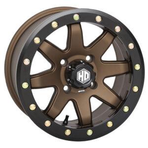 4/156 STI HD9 Complock Wheel 14×7 5.0 + 2.0 Bronze for Kawasaki MULE Pro-DX 2016-2017