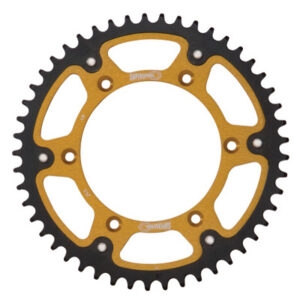 Supersprox Stealth Rear Sprocket 42 Tooth Gold for KTM 1090 Adventure R 2017