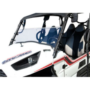 Tusk UTV Hinged Windshield +2-inch for Kawasaki Teryx 750 2008-2013