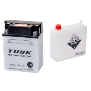 Tusk Tec-Core Battery with Acid TB12CA for Yamaha BREEZE 125 1989-2004
