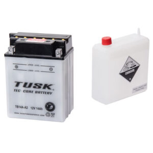 Tusk Tec-Core Battery with Acid TB14AA2 for Bombardier Rally 200 2×4 2003-2006