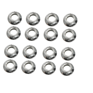 Tusk Flange Locking Lug Nut 10mm x 1.25mm Thread Pitch (16 pack) for Arctic Cat 150 2009-2017