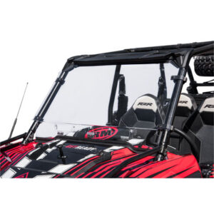 Tusk Vented Hard Coated Poly Carb Front Windshield for Polaris RANGER RZR 900 TRAIL 2015-2018